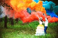 Дим на весілля MAXSEM, 5 кольорів, 30 сек