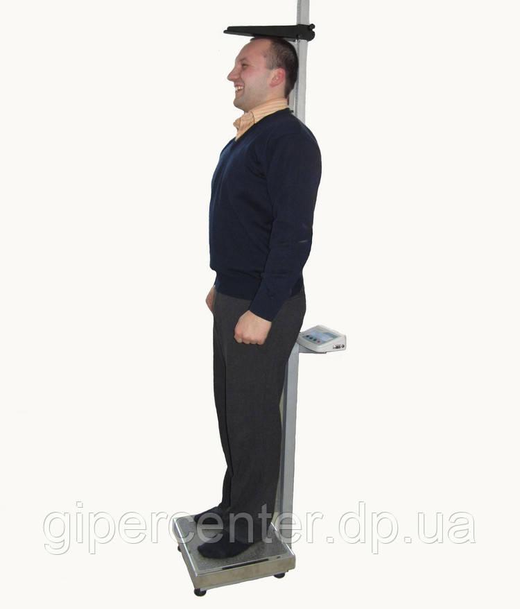 Весы медицинские Техноваги ТВ1-150 с ростомером до 150 кг