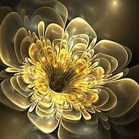 Фотообои Арт-Обои Желтый 3д цветок №24172