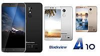 "Смартфон Blackview A10, 2/16Gb, 5/2Мп, 4 ядра, 2sim, экран 5"" IPS, 2800mAh, GPS, 3G, Android 7.0"