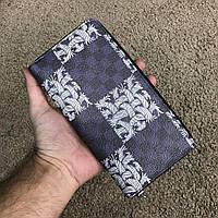 Качественный кошелек из канвы луи витон, бумажник Louis Vuitton