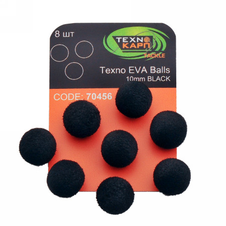 Texno EVA Balls 10mm black Технокарп