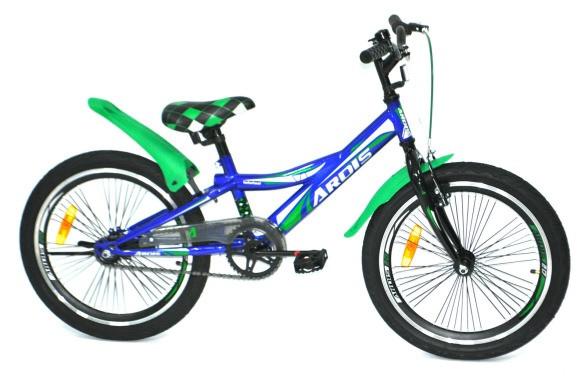 """Детский велосипед ARDIS HOTWHEEL 20""""  Синий/Зеленый"""