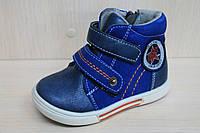 Высокие ботинки на мальчика, детская демисезонная обувь, высокие ботинки, акция тм SUN р.22