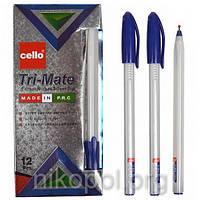 Ручка масляная Cello Tri-Mate 1779 синяя