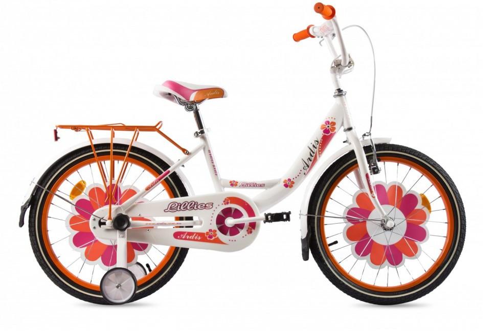 """Детский велосипед  ARDIS  LILLIES  BMX  20""""  Белый/Оранжевый"""