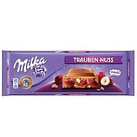 Шоколад Milka Trauben-Nuss Raisins&Hazelnuts, 270 г