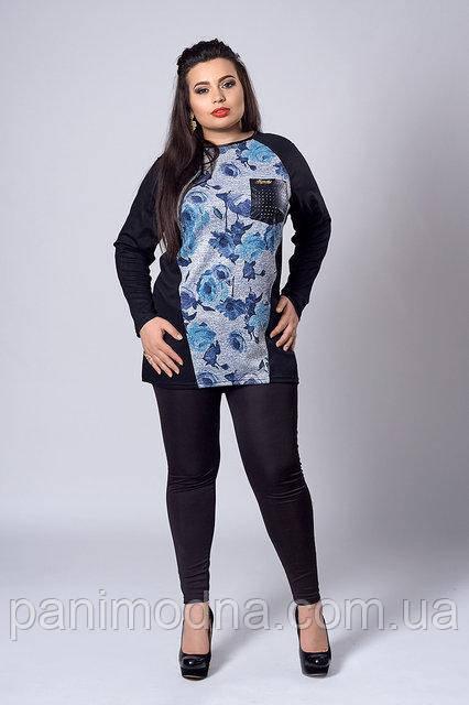 Модный женский свитшот. Новинка 2018.  код 282