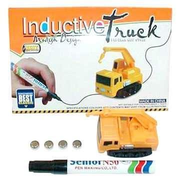 Детский индукционный автомобиль индукционная машинка Inductive Truck