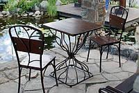 Кованые стулья и столы для ресторана и кафе 2