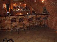 Кованые стулья и столы для ресторана и кафе 3
