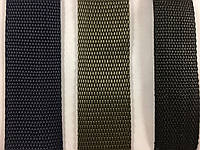 Сумочная тесьма черного цвета 3 см