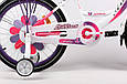 """Детский велосипед ARDIS LILLIES BMX 20""""  Белый/Фиолетовый, фото 5"""