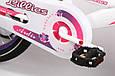 """Детский велосипед ARDIS LILLIES BMX 20""""  Белый/Фиолетовый, фото 6"""