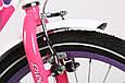 """Детский велосипед ARDIS LILLIES BMX 20""""  Белый/Фиолетовый, фото 8"""