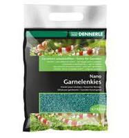 "Грунт для мини-аквариумов Nano Garnelenkies, цвет ""Java Grün"", фракция 0,7-1,2 мм., 2 кг."