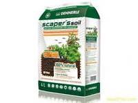 Питательный грунт для растительных аквариумов Scaper's Soil 1-4 mm, 4 литра