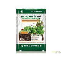 Питательный грунт для растительных аквариумов Scaper's Soil 1-4 mm, 8  литров