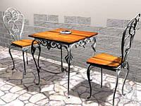 Кованые стулья и столы для ресторана и кафе 7