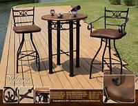 Кованые стулья и столы для ресторана и кафе 8
