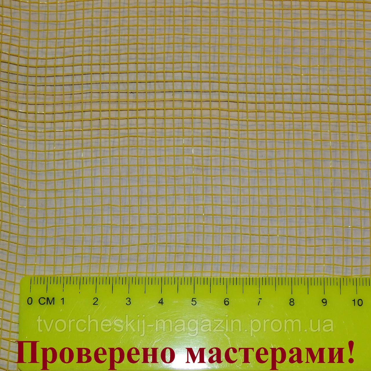 Сетка флористическая стандарт 50 см желтая пог. м.