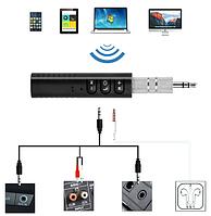 Bluetooth адаптер AUX 3.5  приемник/ресивер  MP3 WAV с кнопочной панелью
