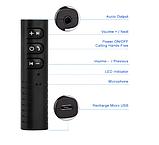 Bluetooth адаптер AUX 3.5  приемник/ресивер  MP3 WAV с кнопочной панелью, фото 5