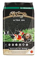 Активный донный грунт для пресноводных аквариумов с креветками Shrimp King  Active Soil 1-4 mm, 4 литра