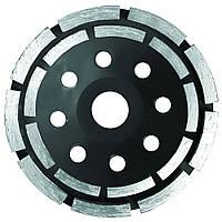Круг алмазный сегментный шлифовальный (чашечный, 2 ряда) Sigma Ø115мм (1912121)