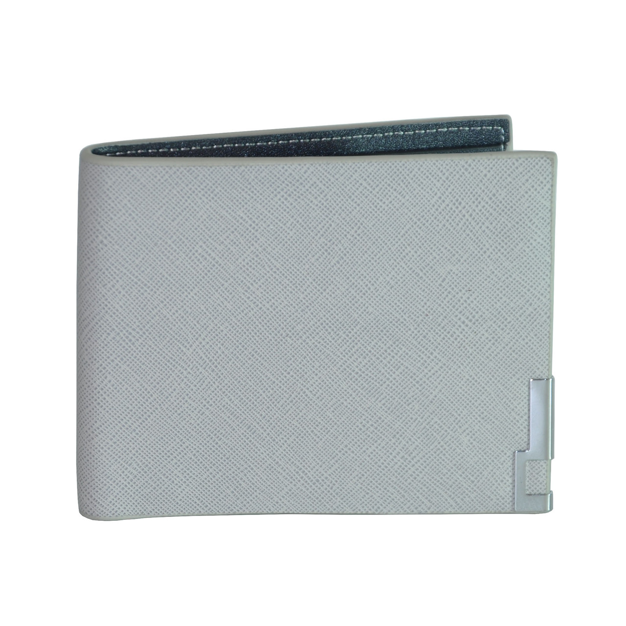 Мужской кошелек Baellerry Minimalist Safyan серый - Интернет магазин