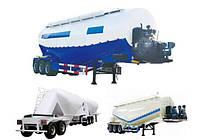 Прицеп для перевозки цемента / Bulk Cement Tank Trailer