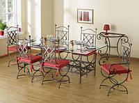 Кованые стулья и столы для ресторана и кафе 11