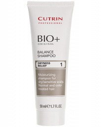 Cutrin BIO+ Balance Shampoo Dryness Relief 1 Балансирующий шампунь, 50 мл.