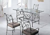 Кованые стулья и столы для ресторана и кафе 13