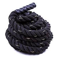 Канат для кроссфита Battle Rope длина 12 м, диаметр 3,8 см