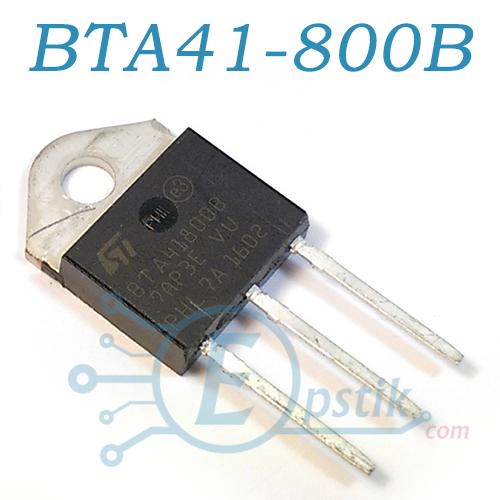 BTA41-800B, Симистор 40А 800В, TOP-3