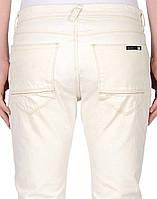 Светлые (айвори, белые) итальянские мужские джинсы LAB. PAL ZILERI, фото 1