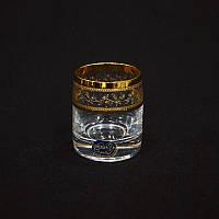 Стопки Bohemia Ideal Gold 25015/43081/060