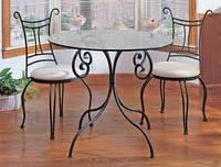 Кованые стулья и столы для ресторана и кафе 18
