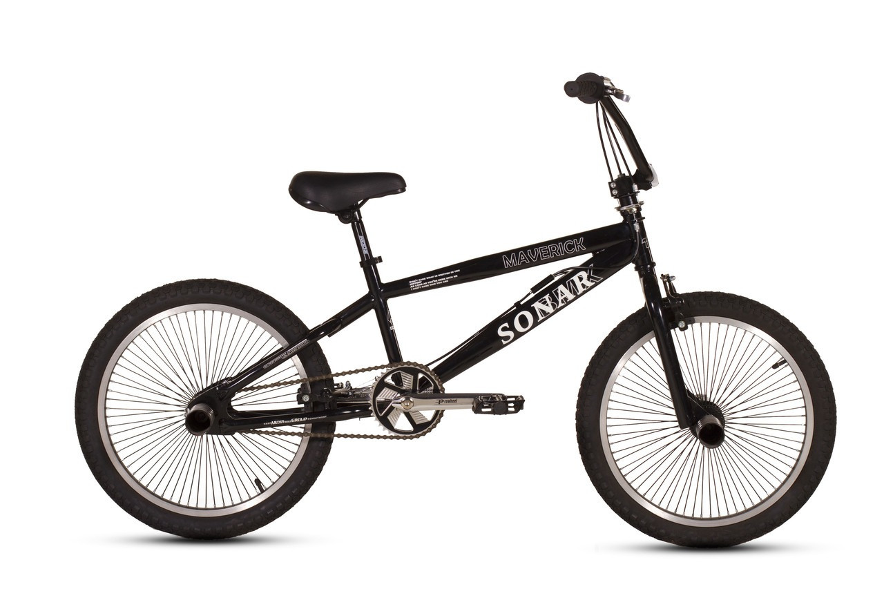 """Велосипед ARDIS MAVERICK BMX FR 20""""  Черный"""