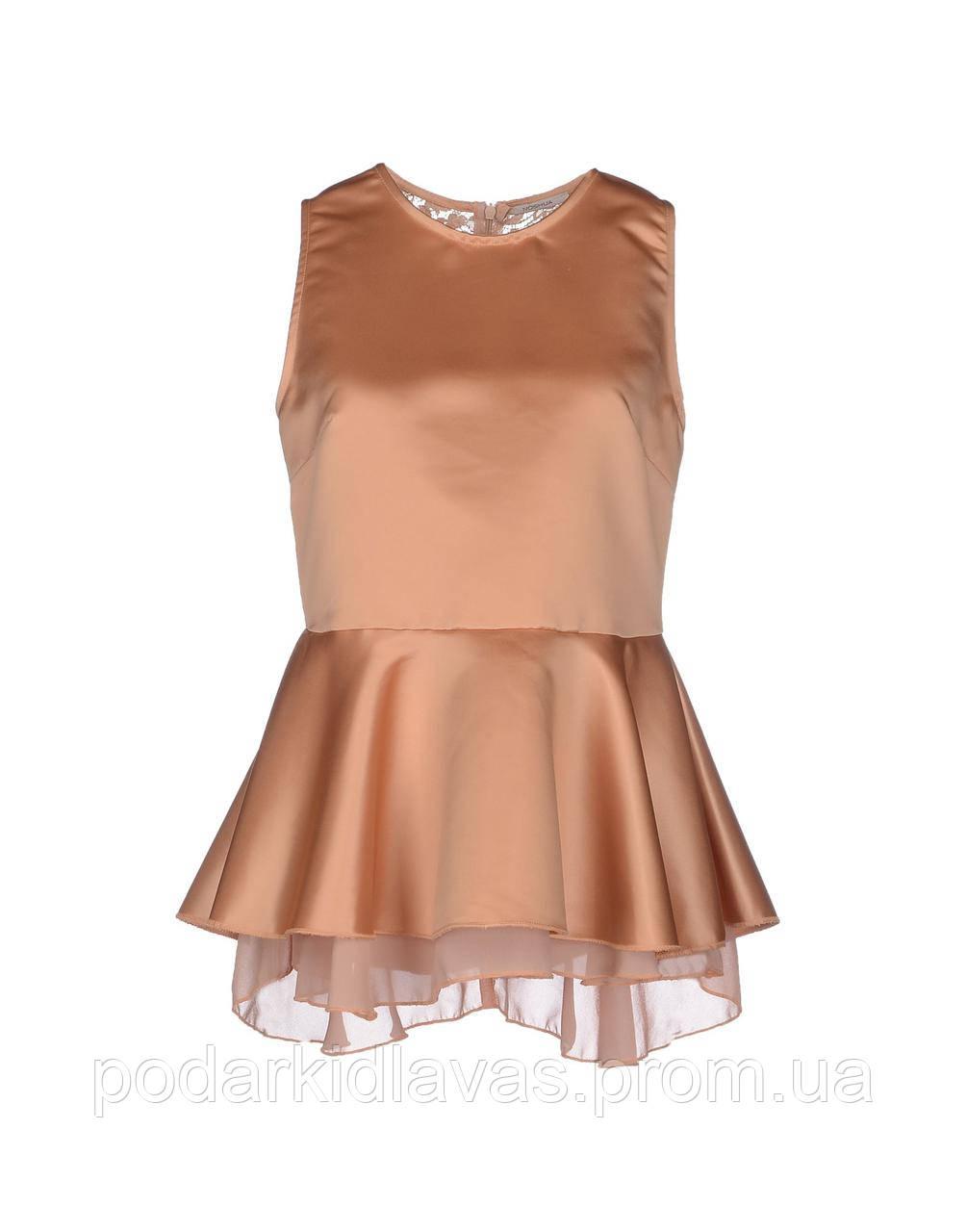 Нарядная атласная блуза итальянского бренда NOSHUA 44р
