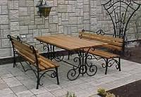 Кованые стулья и столы для ресторана и кафе 21
