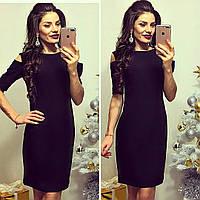 Платье женское, модель 766, черный 44