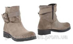 Замшевые осенние ботинки 38р  итальянской марки ANNA