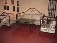 Кованые стулья и столы для ресторана и кафе 25