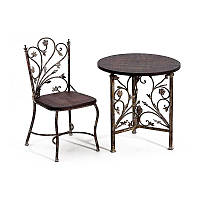 Кованые стулья и столы для ресторана и кафе 30