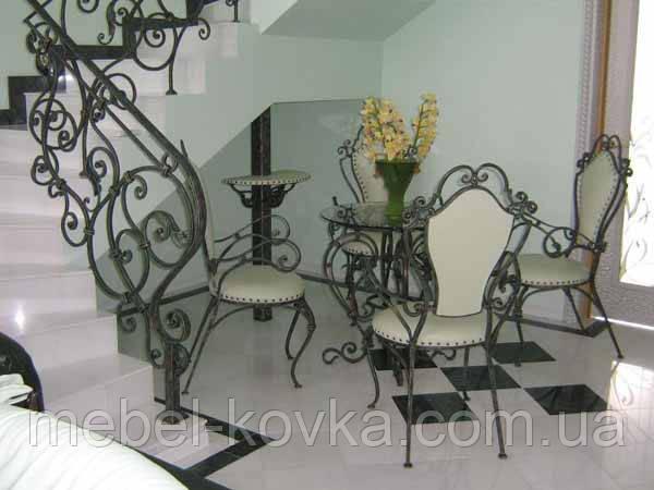 Кованые стулья и столы для ресторана и кафе 31