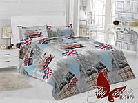 Полуторный комплект постельного белья Лондон,магазин постельного