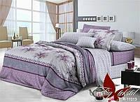 Постельное белье полуторное Фиолет,магазин постельного