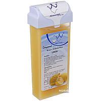 Воск в кассете для депиляции Konsug Beauty, 150 г Лимон